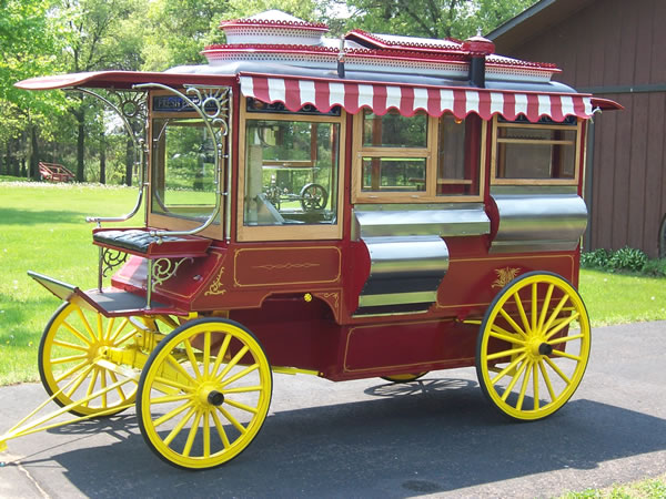 1907 Cretors Popcorn Wagon