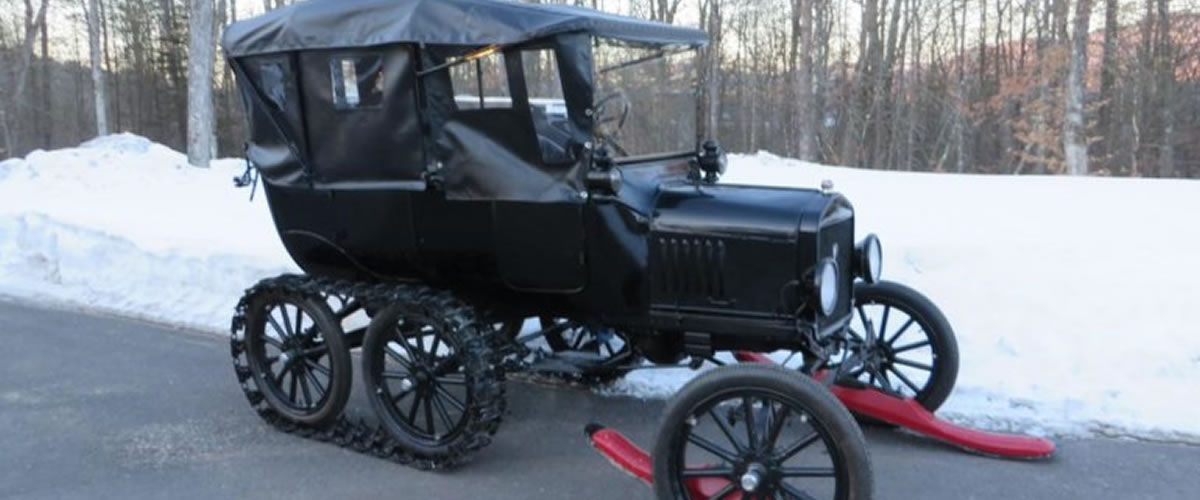 1919 Touring 5-Passenger Snowmobile For Sale