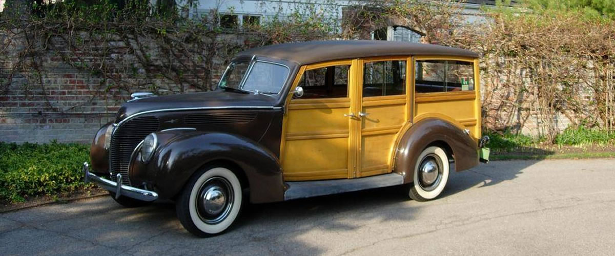 1938 Ford Woody Station Wagon