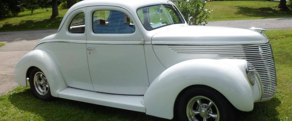 1938 Ford 5-Window Coupe For Sale - New York