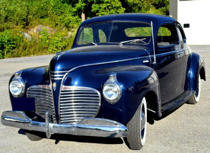 1941  Plymouth Deluxe Business Coupe For Sale