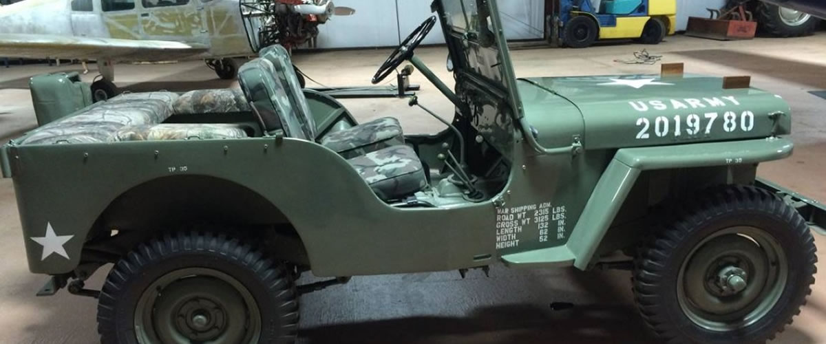 Military Jeep For Sale >> 1948 Willys Military Jeep For Sale