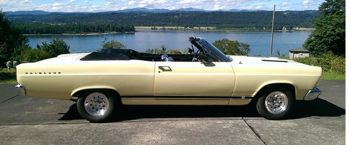 1966 Ford Fairlane Convertible For Sale