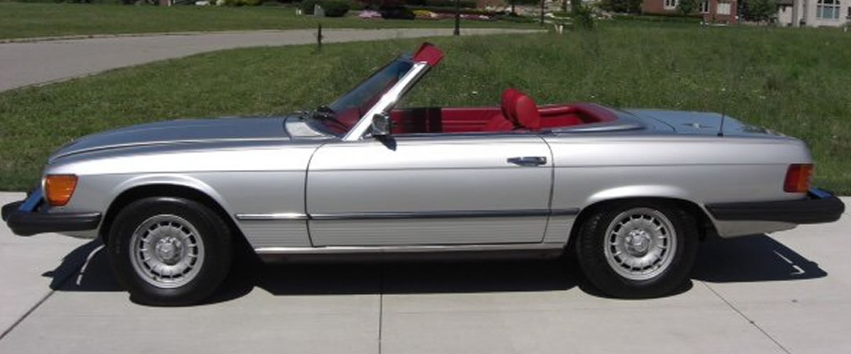 1978 Mercedes 450 SL For Sale