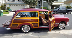 1950 Ford Woodie For Sale - California