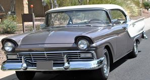 1957 Ford Fairlane Town Victoria Fordor Hardtop For Sale