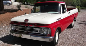 1962 Ford F100 2WD Regular Cab For Sale